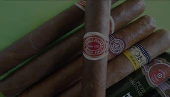 Wide Cuban Cigar Selection